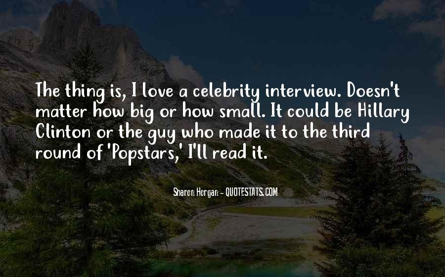 Quotes About Popstars #1221014