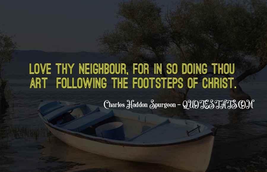 Quotes About Following Others Footsteps #302088