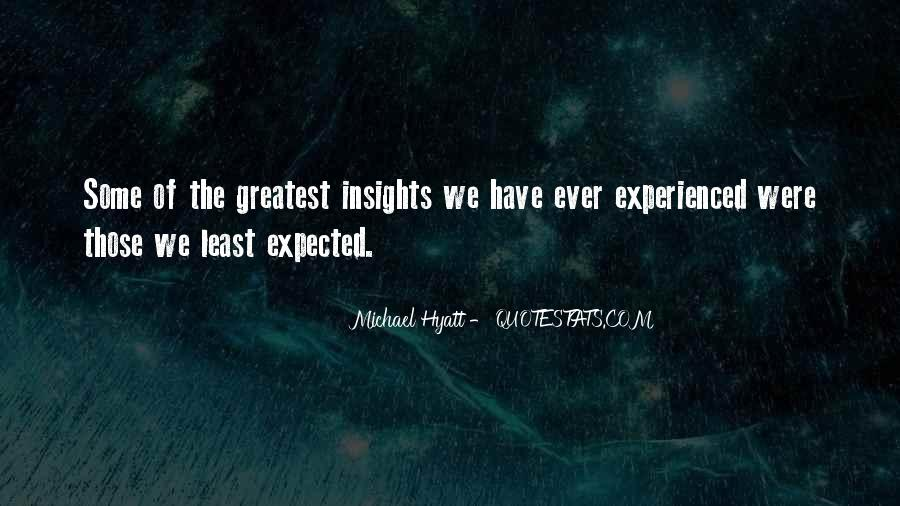 Quotes About Personal Insight #1192368