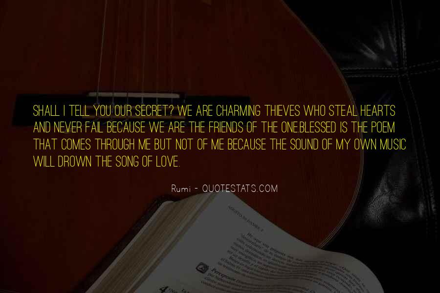 Quotes About Music Rumi #121681