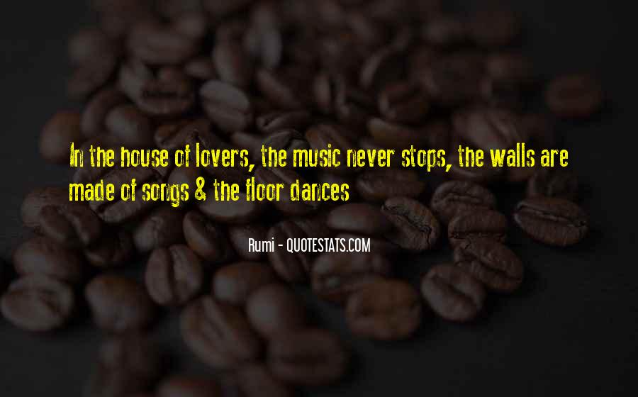 Quotes About Music Rumi #1533501