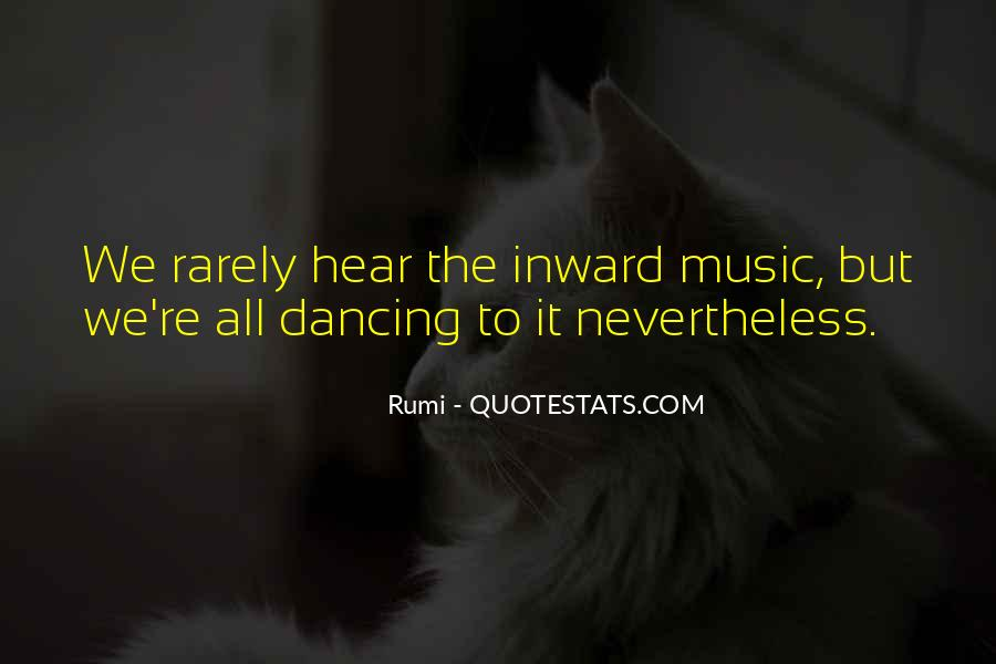 Quotes About Music Rumi #1794127