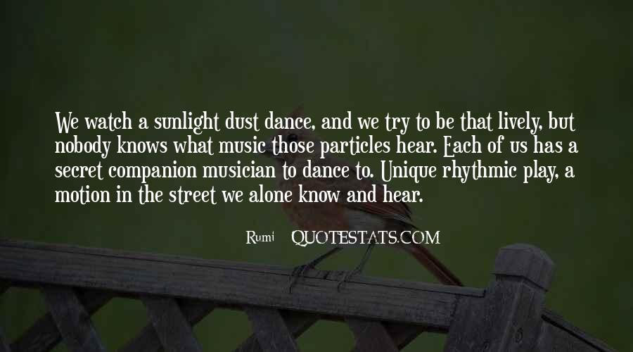 Quotes About Music Rumi #420306