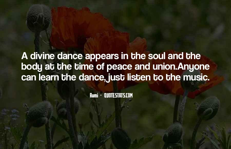 Quotes About Music Rumi #760176