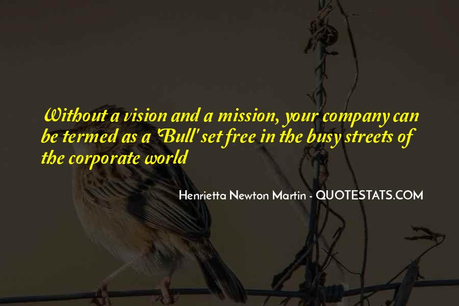 Quotes About Vision Statement #1513975