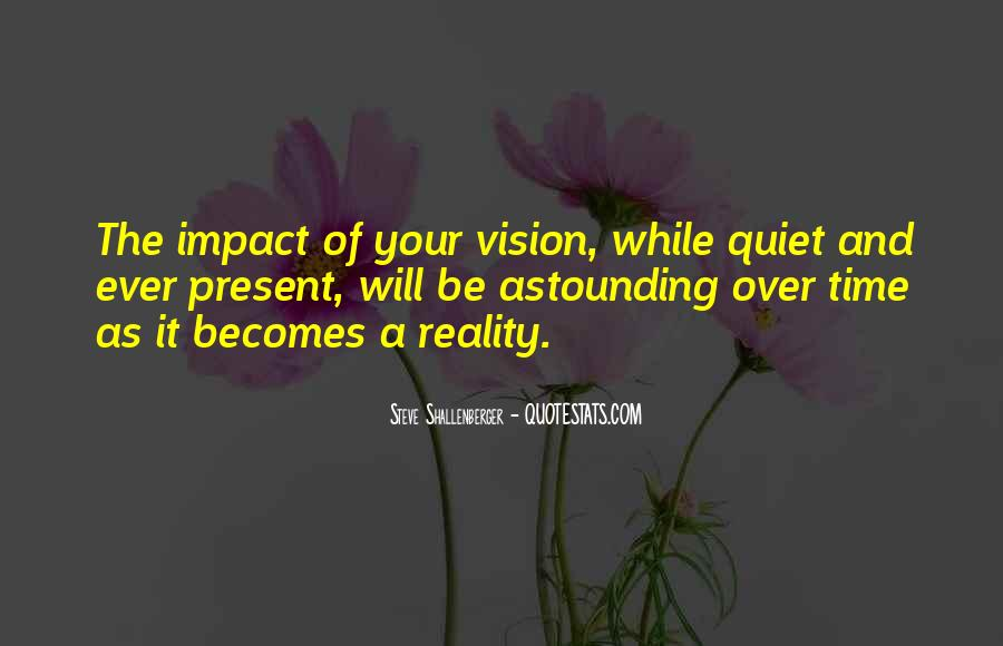 Quotes About Vision Statement #516321