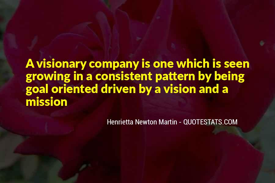 Quotes About Vision Statement #558605