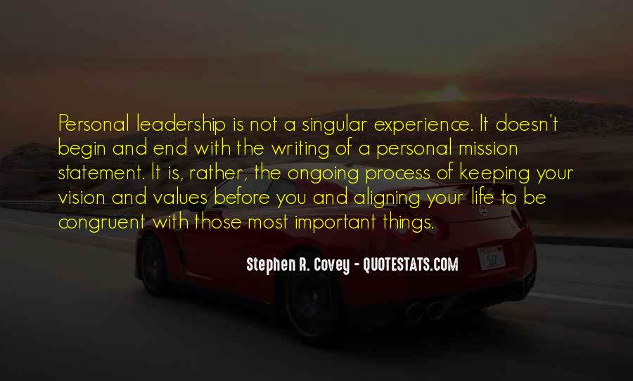 Quotes About Vision Statement #856377