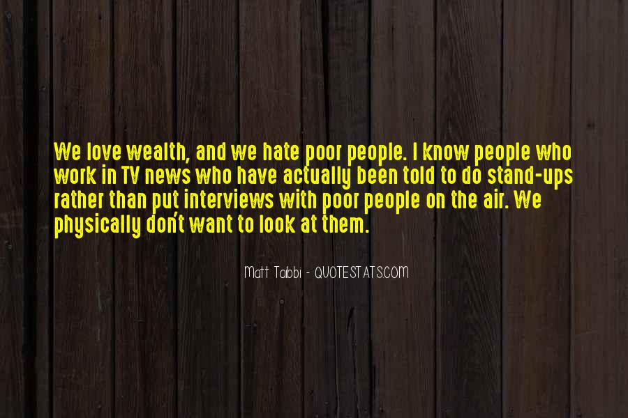 Quotes About Poor People #101038
