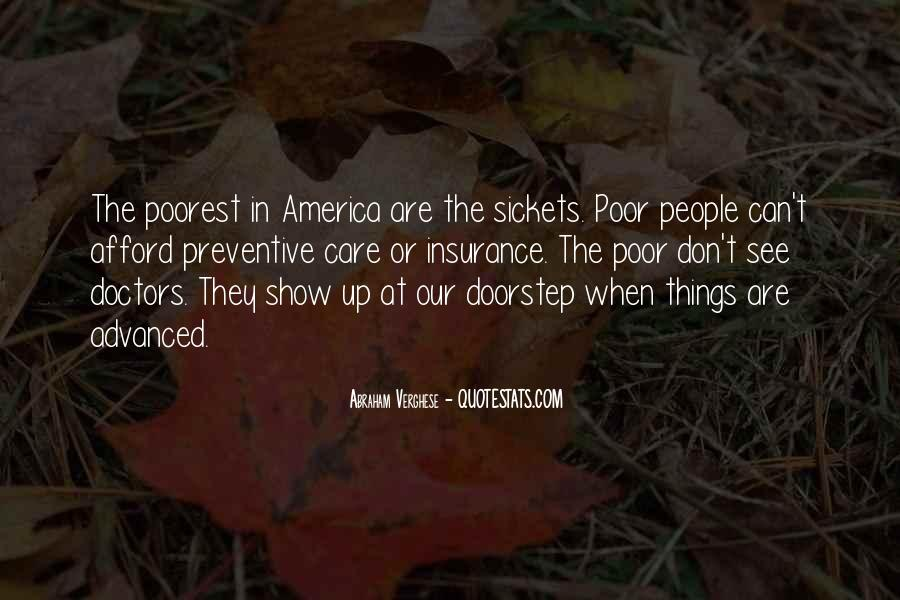 Quotes About Poor People #10609