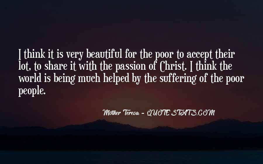 Quotes About Poor People #41481