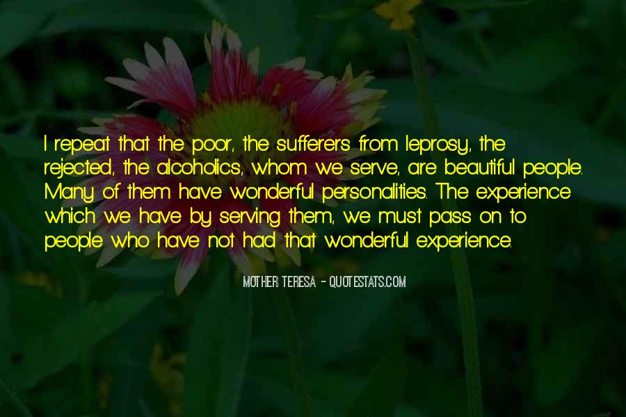 Quotes About Poor People #56816
