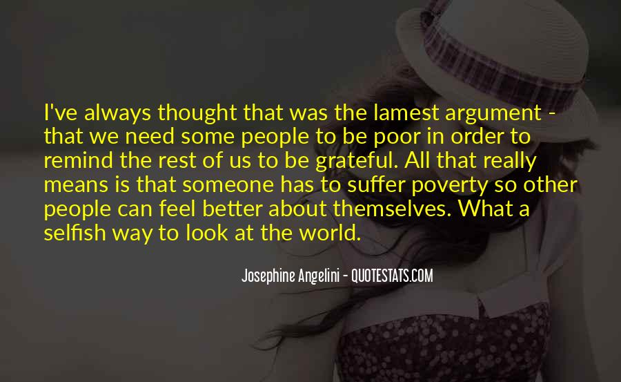 Quotes About Poor People #81172