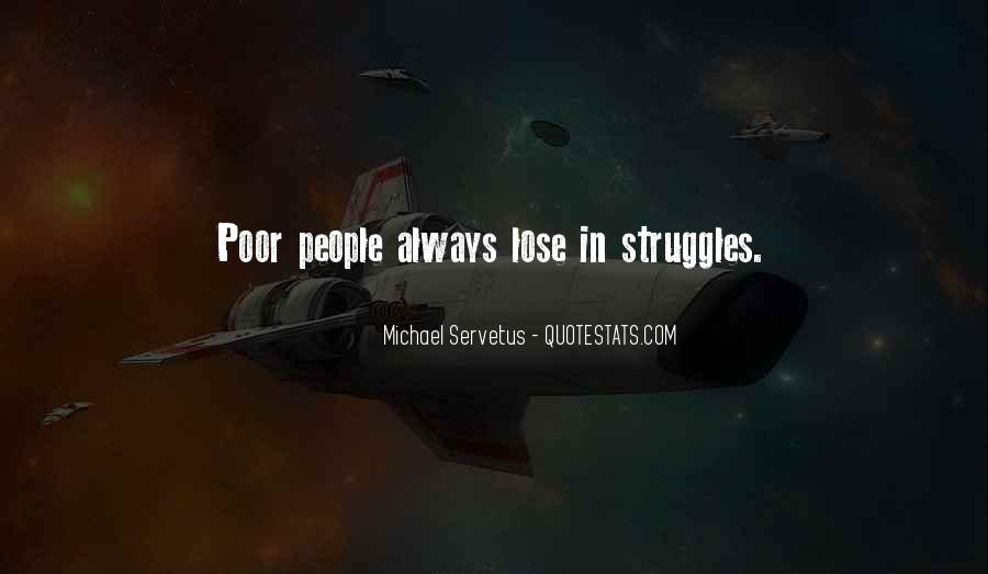 Quotes About Poor People #87439