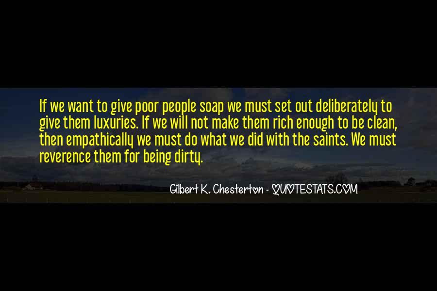 Quotes About Poor People #88964
