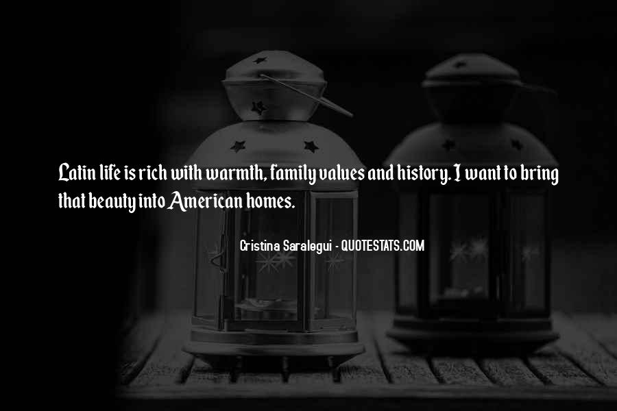 Quotes About Values And Family #1215029