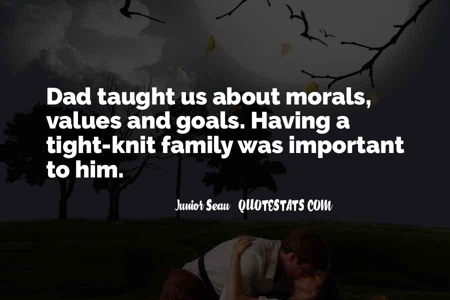 Quotes About Values And Family #1263051