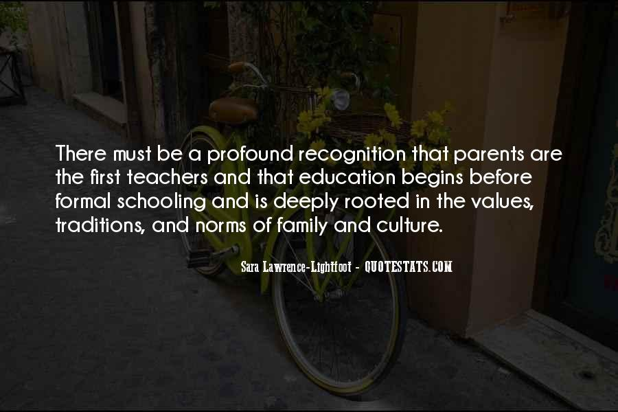 Quotes About Values And Family #287285