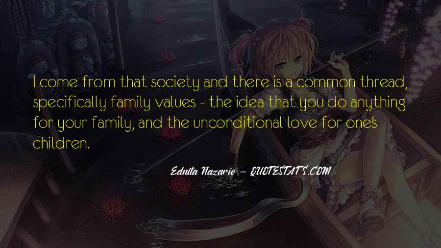 Quotes About Values And Family #32546