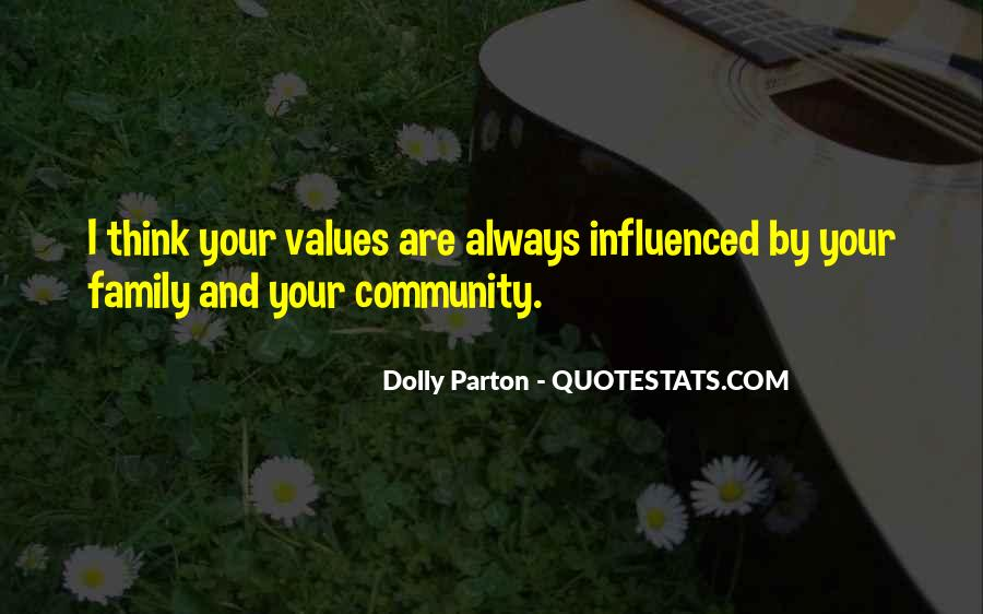 Quotes About Values And Family #339104