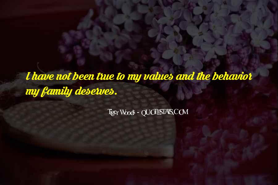 Quotes About Values And Family #356146