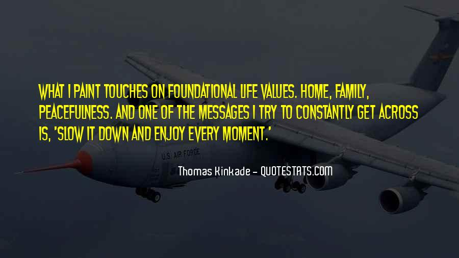 Quotes About Values And Family #368886