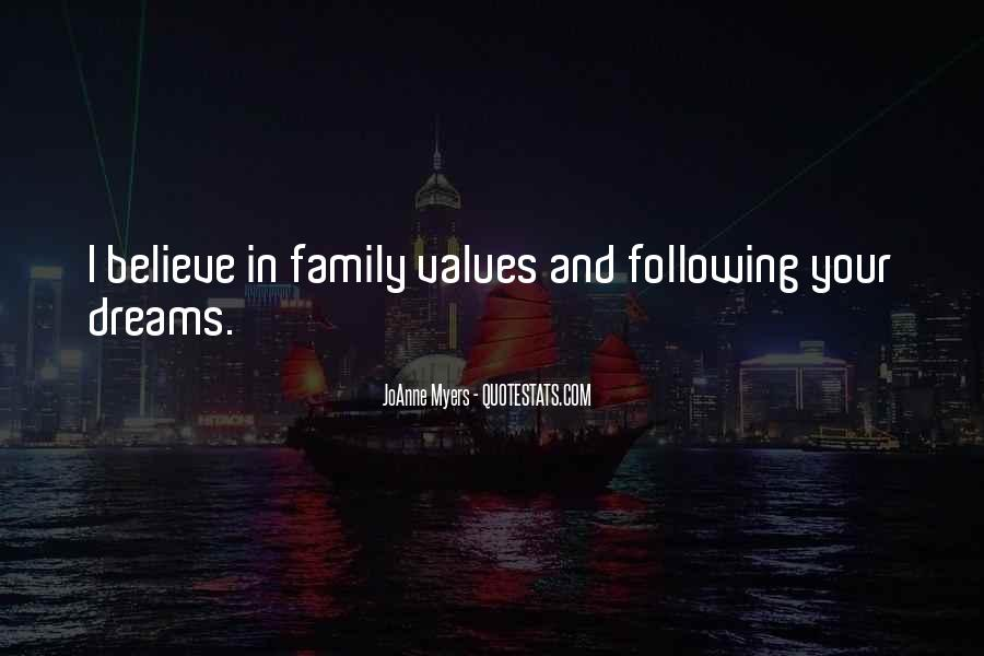 Quotes About Values And Family #457917