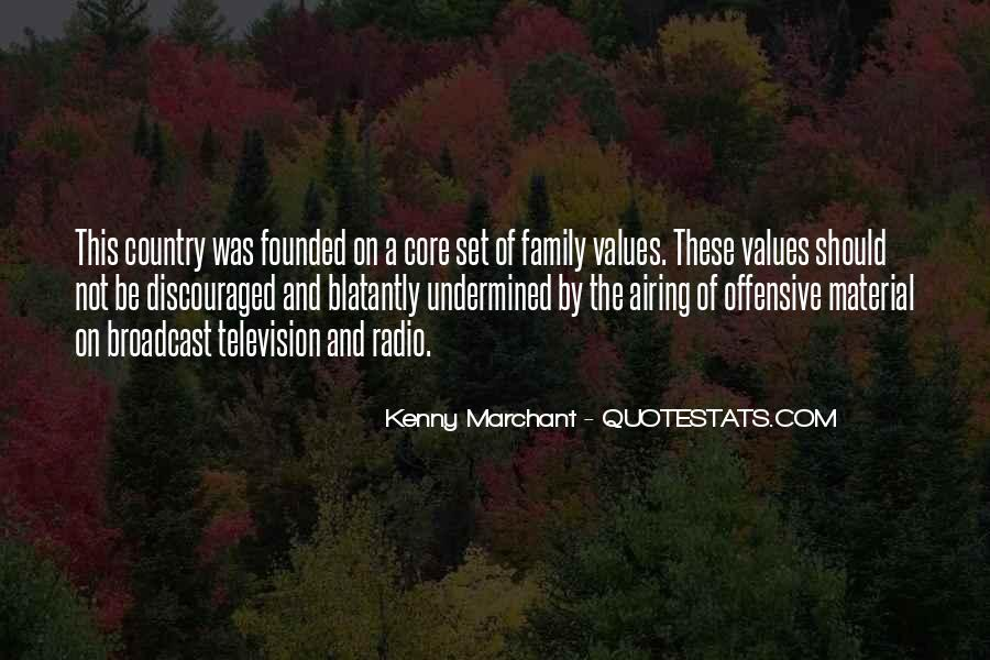 Quotes About Values And Family #460015