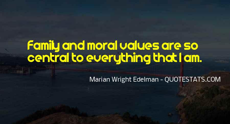 Quotes About Values And Family #496526