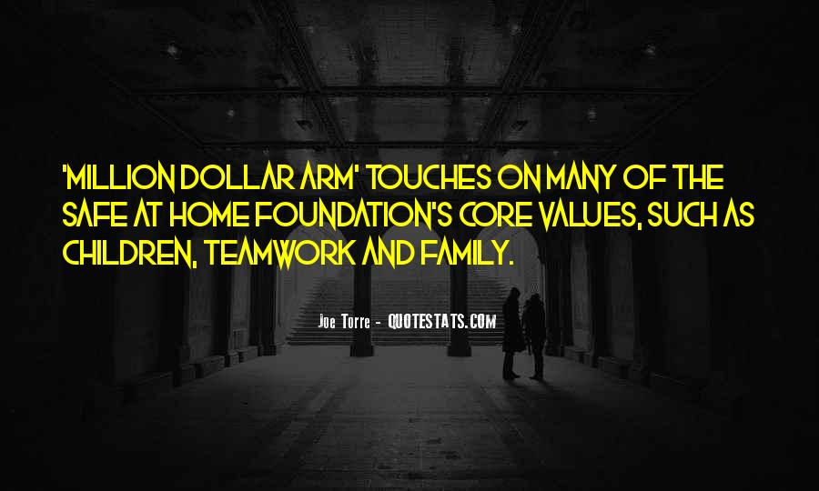 Quotes About Values And Family #512488