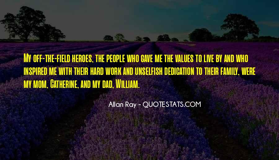 Quotes About Values And Family #539552
