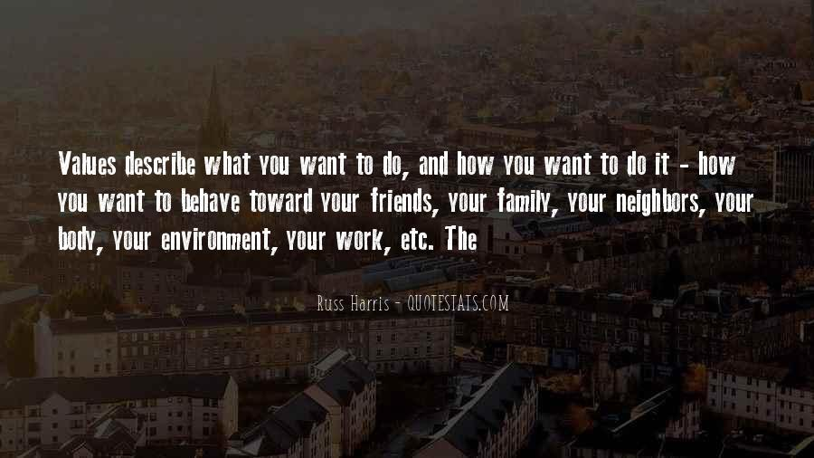Quotes About Values And Family #54671