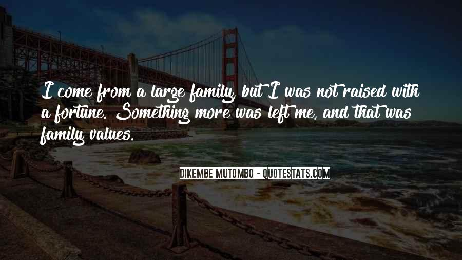 Quotes About Values And Family #585247