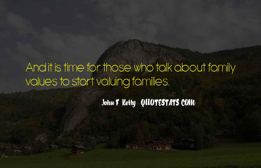 Quotes About Values And Family #638270