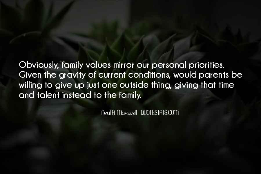 Quotes About Values And Family #89559