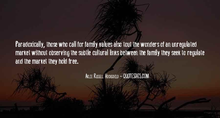Quotes About Values And Family #985559