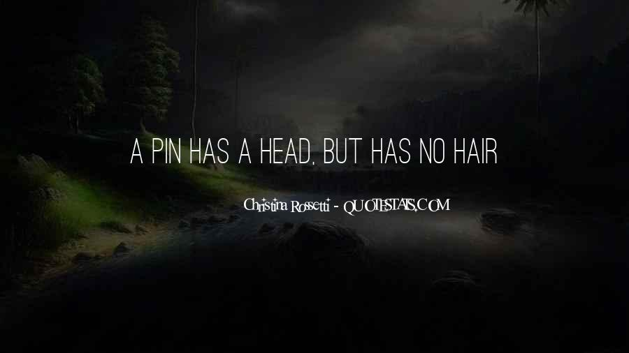 Quotes About Hair Pins #445520