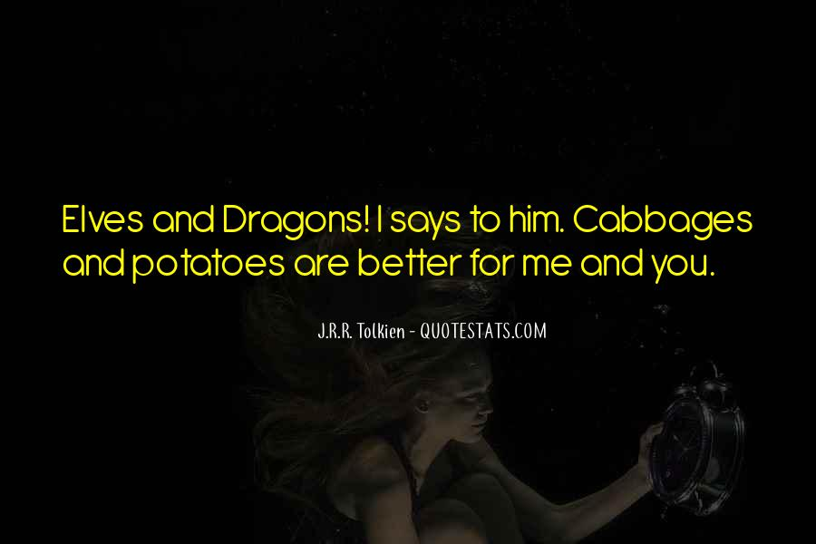 Quotes About Tolkien Dragons #1235506