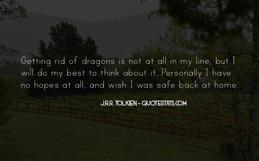 Quotes About Tolkien Dragons #1554137