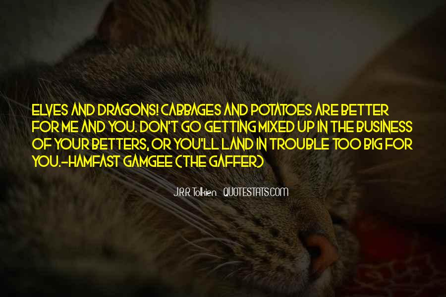 Quotes About Tolkien Dragons #1777296