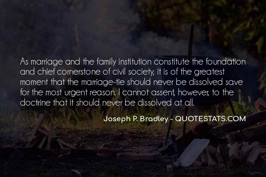 Quotes About Foundation Of Family #1140138