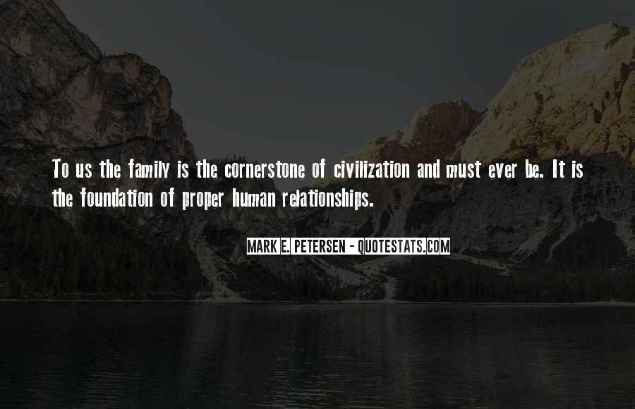 Quotes About Foundation Of Family #1822970