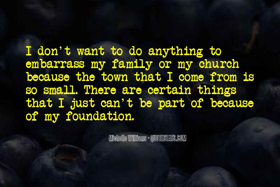 Quotes About Foundation Of Family #1858203