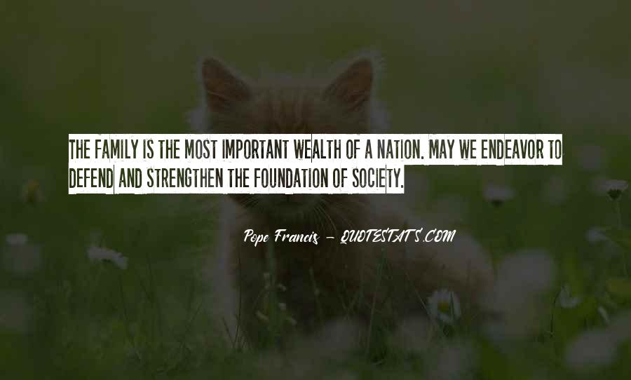 Quotes About Foundation Of Family #198982