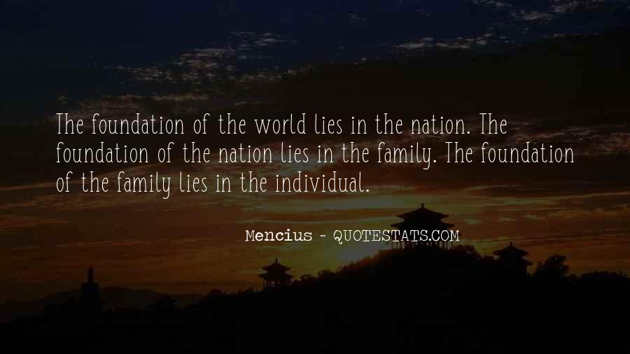 Quotes About Foundation Of Family #237428