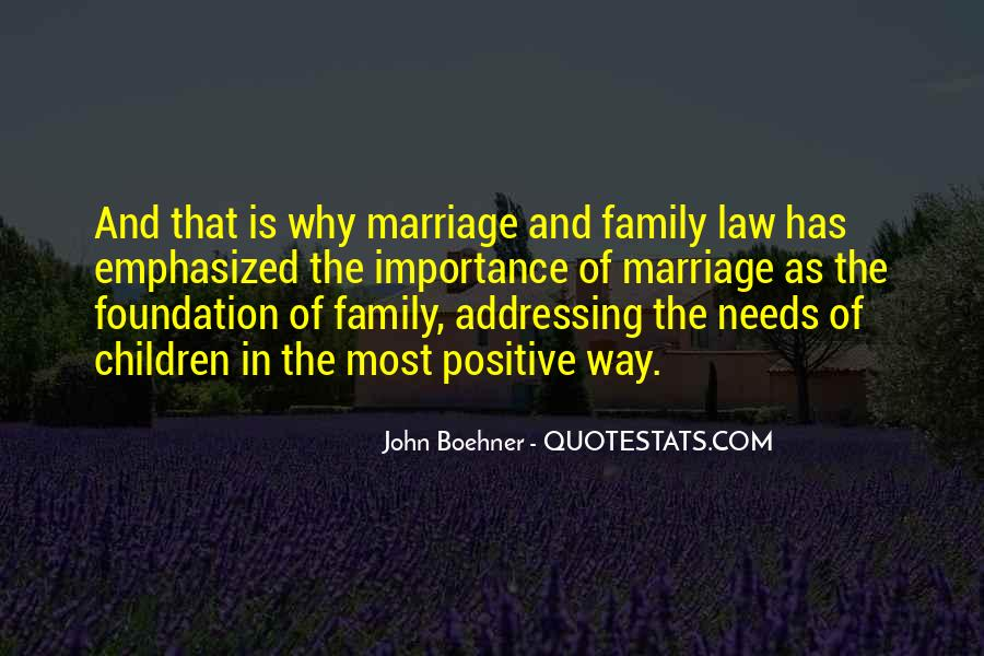 Quotes About Foundation Of Family #339805