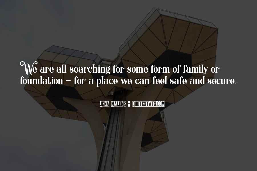 Quotes About Foundation Of Family #372624