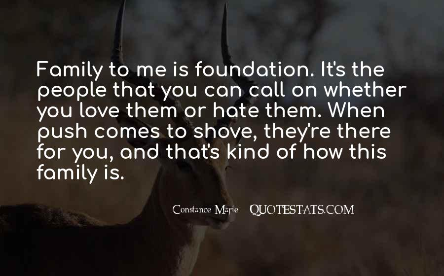 Quotes About Foundation Of Family #555074