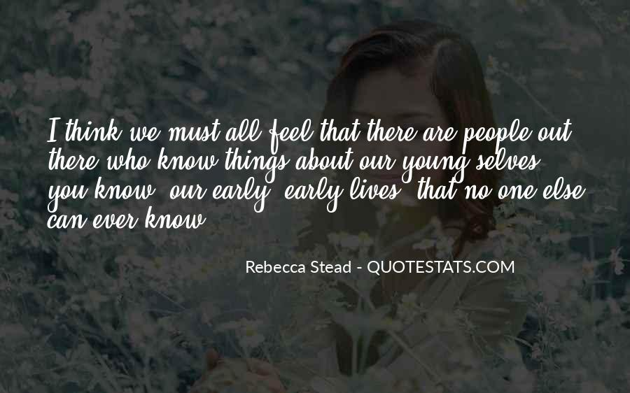 Quotes About We Are Young #12689