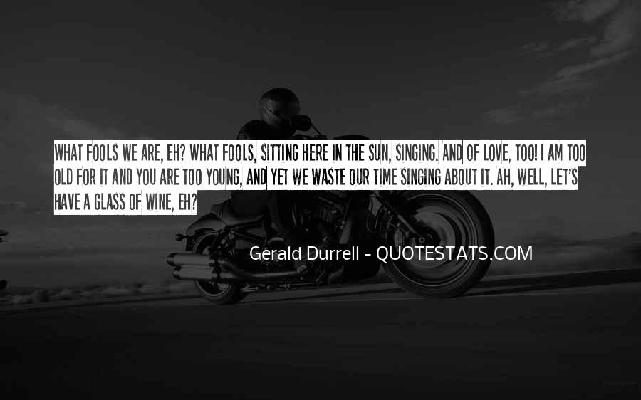 Quotes About We Are Young #28053